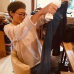 ナカエの服 工房の日常②